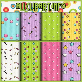 Birthday Party Owls Digital Papers