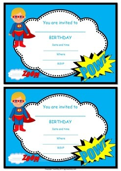 Birthday Party Pack FREE