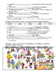 Birthday Party- Present Tense Practice (Realidades 1/B Ch. 5A)