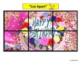 """""""Birthday Party"""" Simple Puzzles for Autism"""