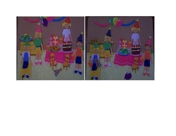 Birthday Party Spot the Differences