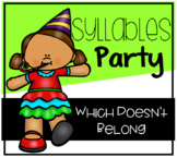 Birthday Party Syllables Which Doesn't Belong Center