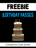 Birthday Passes (FREEBIE!)