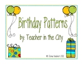 Birthday Patterns