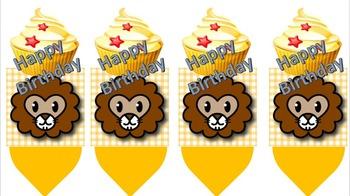 Birthday Pencil: Lion Theme