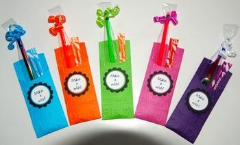 Birthday Pencil Pockets (Set of 12)