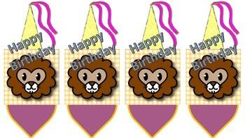 Birthday Pencils Purple