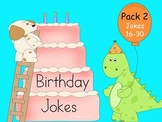 Birthday Phonics Jokes Pack 2