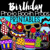 Birthday Photo Booth Props {Made by Creative Clips Clipart}