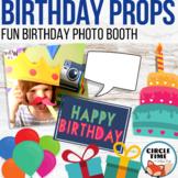 Birthday Photo Props, Photo Booth Props, Birthday Photos,