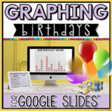 Birthday Pictograph in Google Slides™