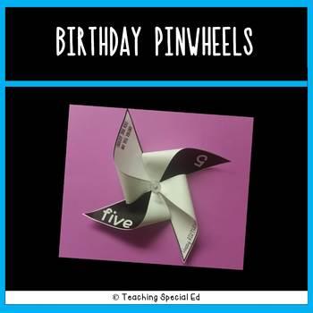 Birthday Pinwheels