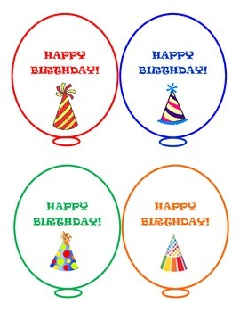 Birthday Pixie Stick Topper