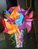 Birthday Pixie Stix Pinwheels (set of 12)