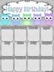 Birthday Poster (Owl Theme)