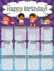 Birthday Poster (Superhero Theme)