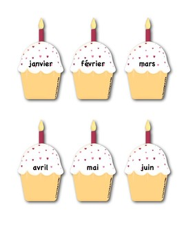 Birthday Poster in FRENCH