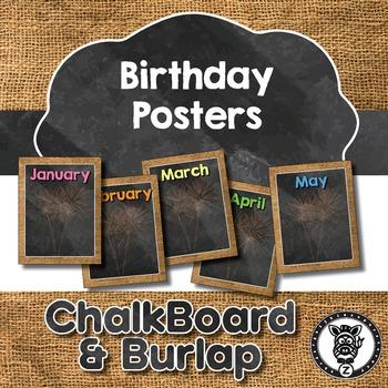 Birthday Posters