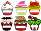 Birthday Banners/Posters - Cupcake Theme