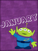 Birthday Posters Months of the Year Toy Story Theme