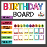 Birthday Board Display and Class Book