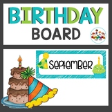 Birthday Posters and Class Birthday Book