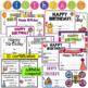 Birthday Bundle- Editable