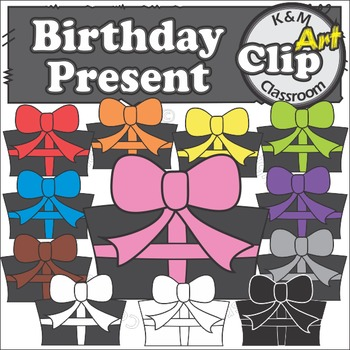 Birthday Present - Clip Art