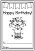 Birthday Printable for Kindergarten (FREE!)