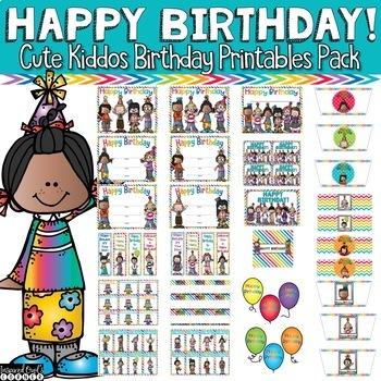 Birthday Certificates & More
