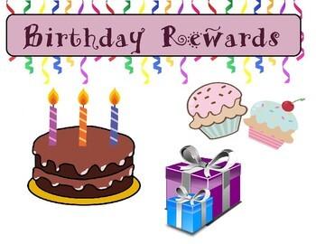 Birthday Rewards Pack for Online ESL (VIPKID, gogokid, etc.)