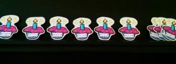 Birthday Rhythm Cupcakes HARD GOOD