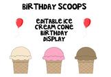 Birthday Scoops