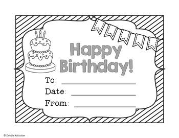 Birthday Set - Blackline Stripes
