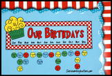 Birthday Sign and Tags – Coordinates with Seuss-like Color