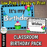 Birthday Signs & Greeting Card