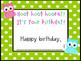Birthday Signs- Owl Themed
