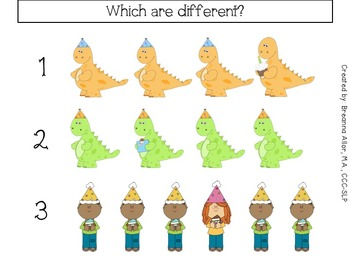 Birthday Similarities and Differences Freebie