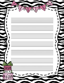 Birthday Staff Paper for Elementary Music Students