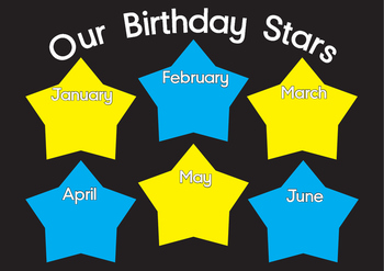 Birthday Star Chart By Margie Carter