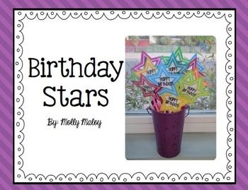 Birthday Stars