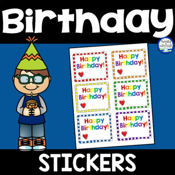 Birthday Stickers {FREE}