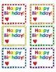 Birthday Stickers {FREE}