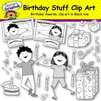Birthday Stuff Clip Art