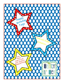 Birthday Tags American Eagle Collection