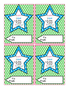 Birthday Tags Flamingo Collection