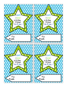 Birthday Tags Hummingbird Collection