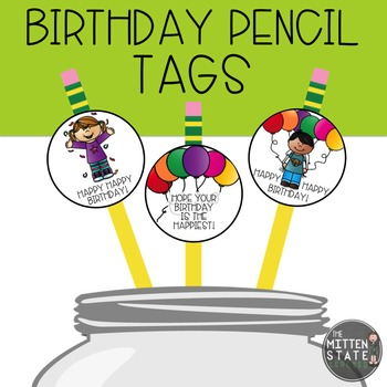 Birthday Tags / Labels