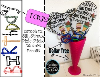 Birthday Tags and Book