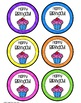 Birthday Tags and New Student Welcome Cards FREEBIE